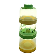 Hộp chia sữa 3 tầng tách riêng, kèm nắp AM55501 - Thái Lan. thumbnail