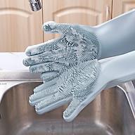 Găng Tay Rửa Bát Silicon Tạo Bọt Đa Năng (Giao Ngẫu Nhiên Mẫu) thumbnail