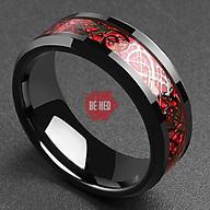 Nhẫn nam titan đá màu cực đẹp Trang sức Bé Heo BHN115 thumbnail
