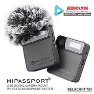 Micro Không Dây cài ve áo Relacart MIPASSPORT Mi1 2.4G Wireless thumbnail