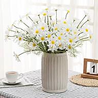 Hoa cúc giả trang trí nhà cửa , văn phòng , làm phông nền , đạo cụ chụp ảnh thumbnail