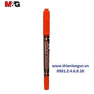 Bút dạ kính 2 đầu M&G - APM21372 mực đỏ thumbnail
