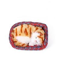 Mô hình Mèo Nằm Ngủ Trong Nôi Trang Trí Ô Tô Nhà Cửa thumbnail