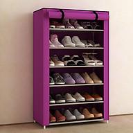 Tủ giày dép 7 tầng 6 ngăn bọc vải cao cấp thumbnail
