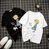 Áo thun Nam Nữ Không cổ Dưới Mưa CIMT-0003 mẫu mới cực đẹp, có size bé cho trẻ em áo thun Anime Manga Unisex Nam Nữ, áo phông thiết kế cổ tròn basic cộc tay thoáng mát thumbnail