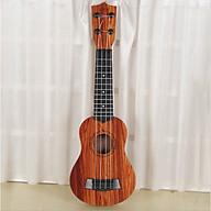 Đồ chơi đàn guitar mini vân gỗ cho trẻ tập chơi đàn thumbnail