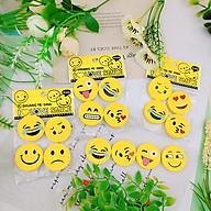 Bốn cục gôm mặt cười vui nhộn giao màu ngẫu nhiên thumbnail