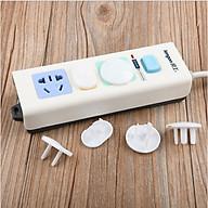 Combo 20 nút bịt ổ điện chống giật, nút che ổ cắm điện an toàn cho gia đình ( 10 chiếc 2 chân, 10 chiếc 3 chân) thumbnail