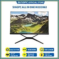 Máy tính All In One SingPC M22i3982( Intel i3-9100, 8GB, SSD 256, 21.5 Full HD IPS, Lan, Wifi, Bluetooth)- Hàng Chính Hãng thumbnail