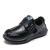 Giày kiểu dáng mới 2021 giày đế bằng da thật cho trẻ em giày thể thao đế bằng Mã 10068 thumbnail