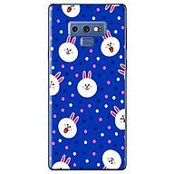 Ô p Lưng Dành Cho Samsung Galaxy Note 9 - Họa Tiết Đầu Thỏ Line thumbnail