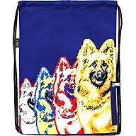 Túi Dây Rút XOX Backpack 4 German Shepherd Navy thumbnail
