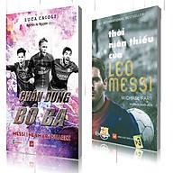 Combo Chân dung bộ 3 messi-neyma-suarez, Thời niên thiếu của Leo Messi thumbnail