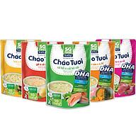 Lốc 5 - Cháo Tươi Baby Sài Gòn Food 240g, Gà, Thịt Bằm, Bò, Lươn, Cá Hồi thumbnail