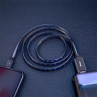 Cáp dữ liệu dạ quang Baseus Iphone 11 pro max Xs Xr 6 7 8 Plus-Sản phẩm nhập khẩu thumbnail