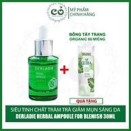 Siêu Huyết Thanh Giảm Mụn Từ Tràm Trà Derladie Herbal Ampoule For Blemish 30ml thumbnail
