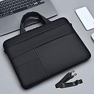 Cặp đựng laptop, Túi xách đựng laptop cao cấp 14inch kiểu dáng gọn nhẹ, thời trang. thumbnail