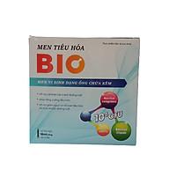 Men tiêu hóa BIO - Bố sung 2 tỷ lợi khuẩn và kẽm - Hỗ trợ cải thiện hệ vi sinh đường ruột, giúp tăng cường tiêu hóa - Hộp 10 ống x 10ml thumbnail