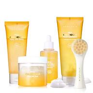 Aprilskin Set full 4 sản phẩm Calendula + cọ rửa mặt Real Cleaning Pore Brush thumbnail