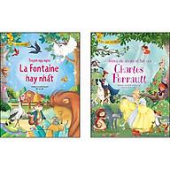 Combo 2 Cuốn Tủ Sách Vàng Cho Con [Truyện ngụ ngôn La Fontaine hay nhất + Những câu chuyện cổ tích của Charles Perrault] thumbnail