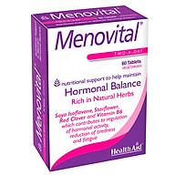 Thực phẩm chức năng viên uống tăng sinh lý nữ Menovital (60 viên) - Xuất xứ Anh thumbnail
