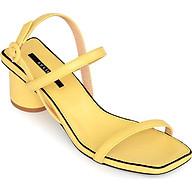 Giày Sandal Gót Trụ 5 phân Sulily SGT1-II20 màu vàng thumbnail