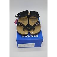 Dép birken da bò thật Bioline dép đế trấu xỏ ngón quai hậu cao cổ mã BO16 - Bioline Official thumbnail