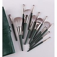 Bộ Cọ Makeup 14 Cây Cán Xanh Cao Cấp Lông Siêu Mịn Tiện Dụng Đầy Đủ Chức Năng Trang Điểm Cá Nhân Hiệu Quả thumbnail