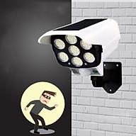 Đèn cảm ứng 7 mắt LED dùng pin năng lượng mặt trời mẫu camera chống trộm thumbnail