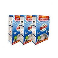 Combo 3 hộp 6 gói x100g bột tẩy lồng máy giặt Hando thumbnail