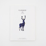 Vở kẻ ngang bìa nhựa dẻo Stars&Elk cỡ B5 160 trang thumbnail