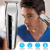 New Style High Definition Display Screen Rotate Speed Adjustable USB Charge Energy Saving Electrical Hair Cutter thumbnail