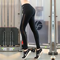 Quần dài lưới dọc tập thể thao Gym, yoga Q006 thumbnail