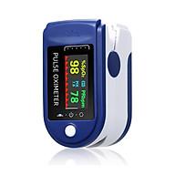 Máy đo nhịp tim và nồng độ oxy trong máu ( loại đặc biệt có hiển thị sóng sung nhịp tim ) thumbnail