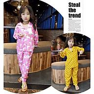 pizama cho bé, đồ mặc nhà pijama dài hàng chuẩn shop 0171 thumbnail