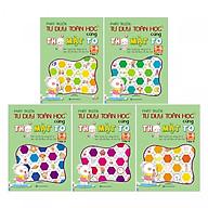 Combo Trọn Bộ 5 Cuốn Phát Triển Tư Duy Toán Học Cùng Thỏ Mặt ( To 5-6 Tuổi ) tặng kèm bookmark thumbnail