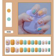 Bộ 24 móng tay giả nail thơi trang (như hình-R-090) thumbnail