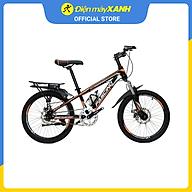 Xe đạp địa hình MTB Fascino FS-01 20 inch Đen cam thumbnail