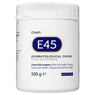 E45 Moisturising Cream for Dry Skin and Eczema 500g thumbnail