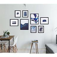 Bộ 8 Khung ảnh Treo Tường phòng khách, văn phòng KA802 Miễn phí phụ kiện. thumbnail