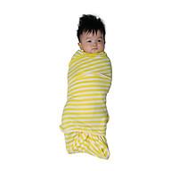 Khăn quấn chũn cổ điển cao cấp giúp bé ngủ ngon- Cotton co giãn 4 chiều - An toàn cho bé thumbnail