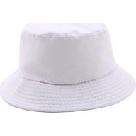 Mũ Tai Bèo Bucket Trơn - Trắng thumbnail