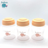 Sét 3 bộ bình trữ sữa Babuu Nhật Bản 120ml thumbnail