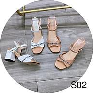 Sandal quai nơ 3 màu cao 6 phân thumbnail