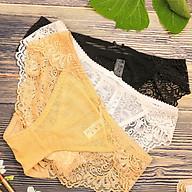 Combo 3 Quần Lót Nữ Ren Hoa, Phối Lưới Cao Cấp Atuner QL016, Quần Lót Nữ Gợi Cảm, Ngọt Ngào - Hàng Chính Hãng thumbnail