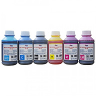Bộ 6 Màu Mực in phun Thuận Phong TP50 (500ml) dùng cho tất cả các dòng máy in phun Epson, HP, Canon - Hàng Chính Hãng thumbnail