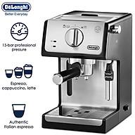 Máy pha cà phê Espresso thương hiệu cao cấp Delonghi ECP35.31 - Áp lực bơm 15 (bar) - Công suất 1100 (W) - HÀNG NHẬP KHẨU thumbnail
