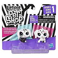 Đồ chơi mô hình Bộ đôi cún con Black and White LITTLEST PET SHOP C2149 C1848 thumbnail