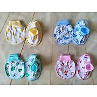 Set 10 bao tay bao chân bo bông MH cho bé trai bé gái sơ sinh 0-6 tháng thumbnail