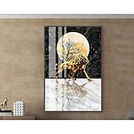 Bộ tranh treo tường phong thủy trang trí nội thất hiện đại,sang trọng,độc đáo,sáng tạo thumbnail